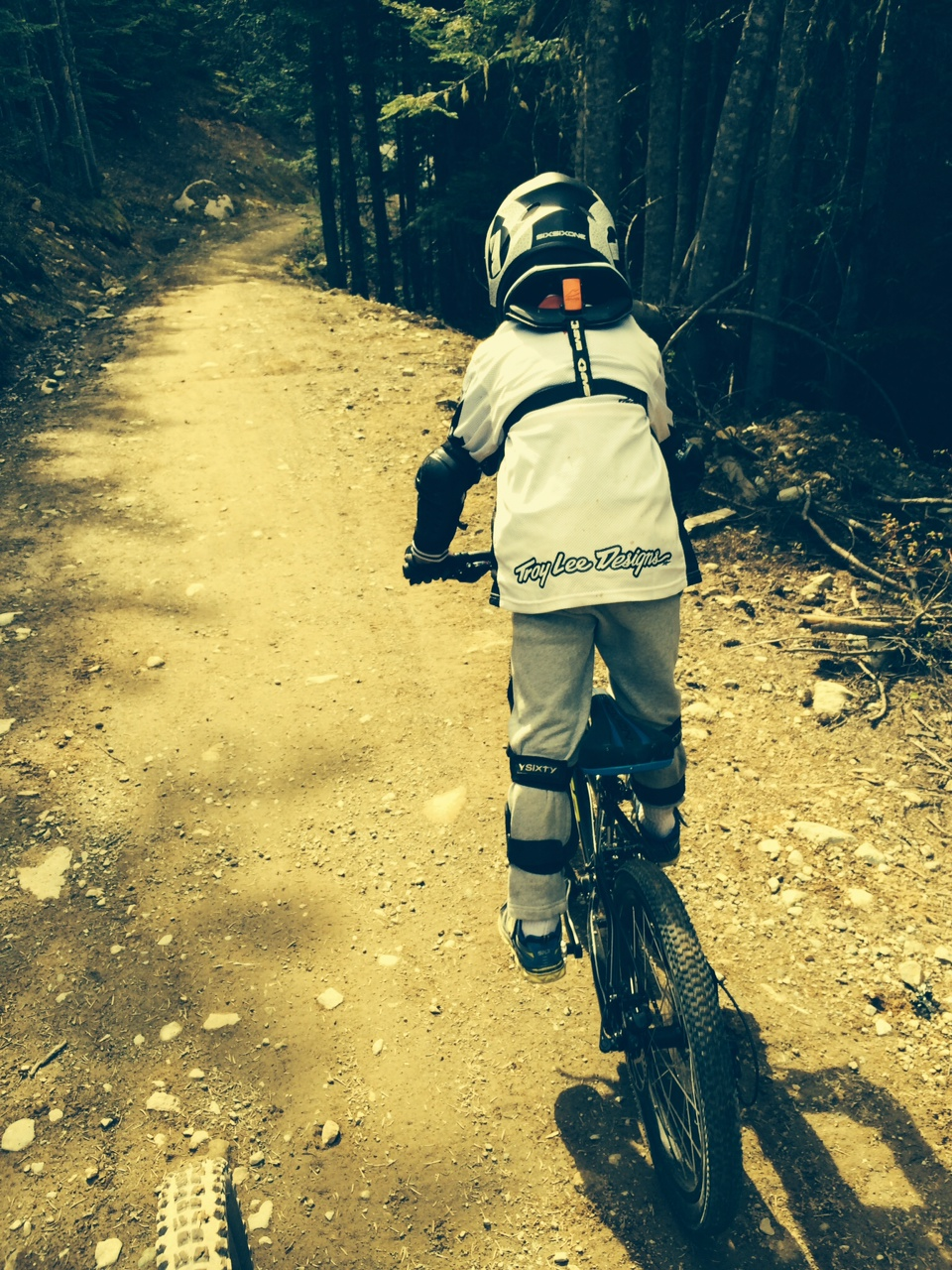 Honey can you take the kid to The Whistler Bike Park tomorrow?
